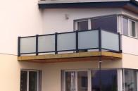 Alu-Glas-Geländer, Brix